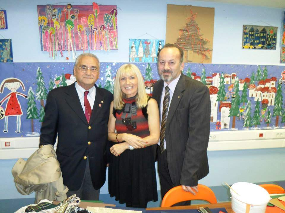 Rotary Kalamaria and Rotary East Larisa Donation of Love for Kids002