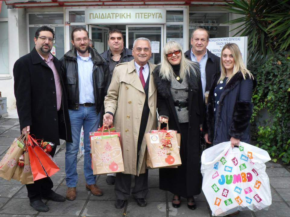 Rotary Kalamaria and Rotary East Larisa Donation of Love for Kids007